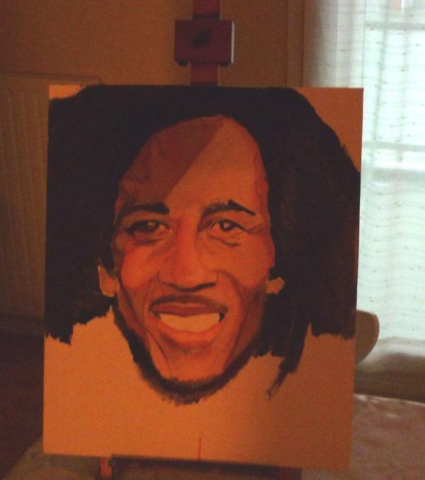 Bob Marley by sillytoto